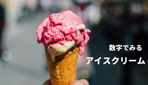 数字でみる「アイスクリーム」